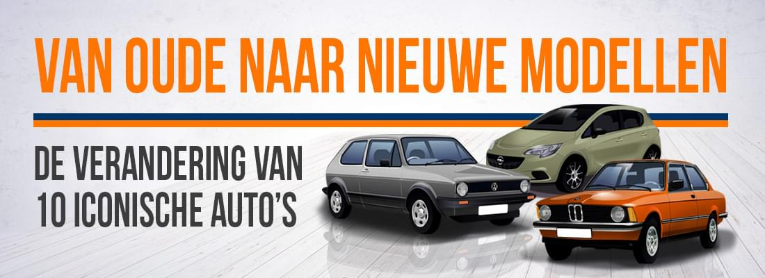 Top 10 populairste auto's in Nederland