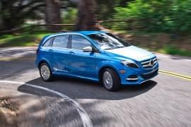 Mercedes-Benz B-Klasse Electric Drive vooraan