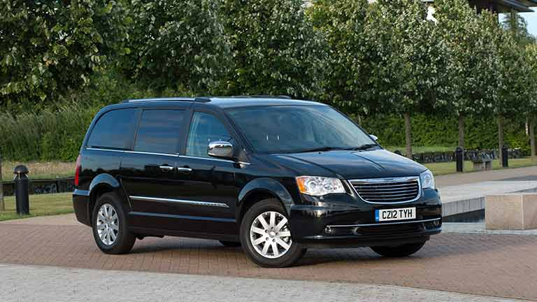 chrysler voyager 7 persoons