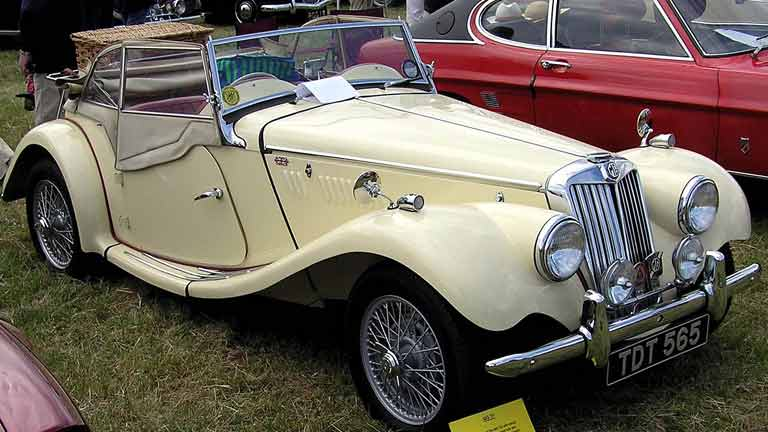 Mg Tf Occasion Tweedehands Auto Auto Kopen Autoscout24