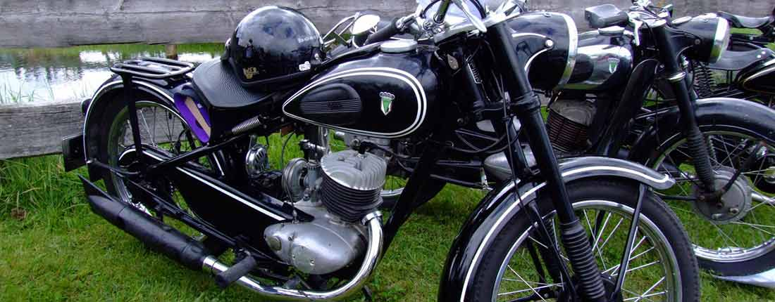 tweedehands oldtimers motoren te koop